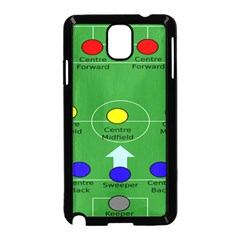 Field Football Positions Samsung Galaxy Note 3 Neo Hardshell Case (black)