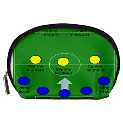 Field Football Positions Accessory Pouches (large)  by Alisyart