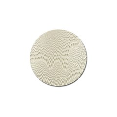 Coral X Ray Rendering Hinges Structure Kinematics Golf Ball Marker (4 Pack)
