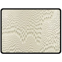 Coral X Ray Rendering Hinges Structure Kinematics Fleece Blanket (large)