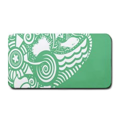 Fish Star Green Medium Bar Mats by Alisyart