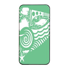 Fish Star Green Apple Iphone 4/4s Seamless Case (black) by Alisyart