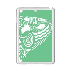 Fish Star Green Ipad Mini 2 Enamel Coated Cases