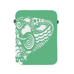Fish Star Green Apple Ipad 2/3/4 Protective Soft Cases by Alisyart