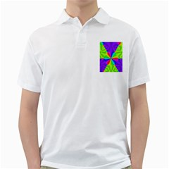 Complex Beauties Color Line Tie Purple Green Light Golf Shirts