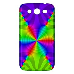 Complex Beauties Color Line Tie Purple Green Light Samsung Galaxy Mega 5 8 I9152 Hardshell Case