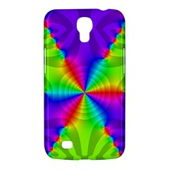 Complex Beauties Color Line Tie Purple Green Light Samsung Galaxy Mega 6 3  I9200 Hardshell Case by Alisyart