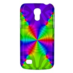Complex Beauties Color Line Tie Purple Green Light Galaxy S4 Mini