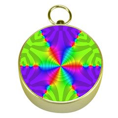 Complex Beauties Color Line Tie Purple Green Light Gold Compasses by Alisyart