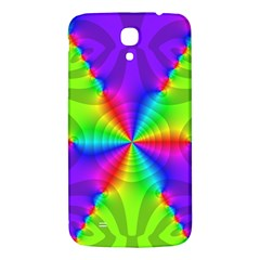 Complex Beauties Color Line Tie Purple Green Light Samsung Galaxy Mega I9200 Hardshell Back Case by Alisyart