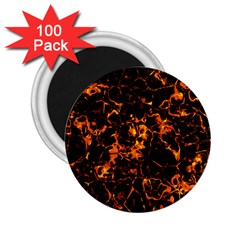 Fiery Ground 2 25  Magnets (100 Pack)