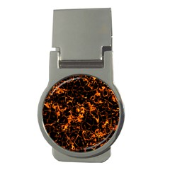 Fiery Ground Money Clips (round)  by Alisyart