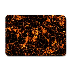 Fiery Ground Small Doormat  by Alisyart