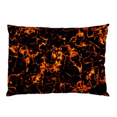 Fiery Ground Pillow Case by Alisyart