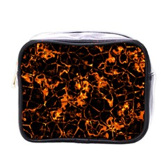 Fiery Ground Mini Toiletries Bags by Alisyart