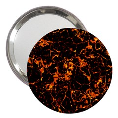 Fiery Ground 3  Handbag Mirrors by Alisyart