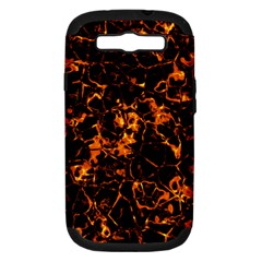 Fiery Ground Samsung Galaxy S Iii Hardshell Case (pc+silicone) by Alisyart