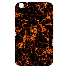 Fiery Ground Samsung Galaxy Tab 3 (8 ) T3100 Hardshell Case  by Alisyart