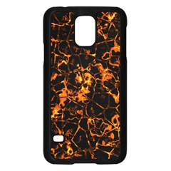 Fiery Ground Samsung Galaxy S5 Case (black) by Alisyart