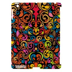 Chisel Carving Leaf Flower Color Rainbow Apple Ipad 3/4 Hardshell Case (compatible With Smart Cover) by Alisyart