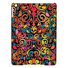 Chisel Carving Leaf Flower Color Rainbow Ipad Air Hardshell Cases