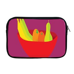 Fruitbowl Llustrations Fruit Banana Orange Guava Apple Macbook Pro 17  Zipper Case