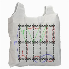 Formula Line Hubbard Model Applied Exist Recycle Bag (one Side) by Alisyart