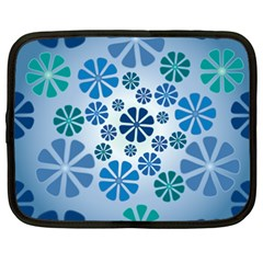 Geometric Flower Stair Netbook Case (xxl)  by Alisyart