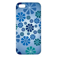 Geometric Flower Stair Apple Iphone 5 Premium Hardshell Case