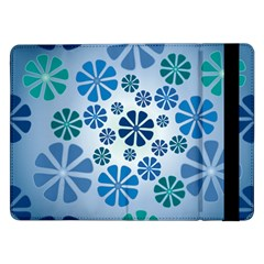 Geometric Flower Stair Samsung Galaxy Tab Pro 12 2  Flip Case by Alisyart