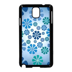 Geometric Flower Stair Samsung Galaxy Note 3 Neo Hardshell Case (black)