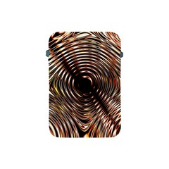 Gold Waves Circles Water Wave Circle Rings Apple Ipad Mini Protective Soft Cases by Alisyart