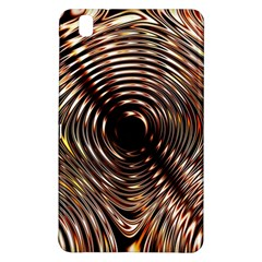 Gold Waves Circles Water Wave Circle Rings Samsung Galaxy Tab Pro 8 4 Hardshell Case