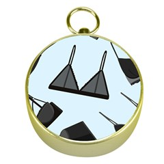 Grown Ups Guide To Underwear Opener Black Blue Gold Compasses by Alisyart