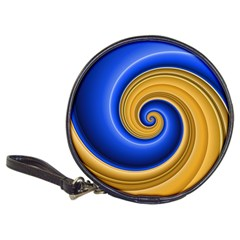 Golden Spiral Gold Blue Wave Classic 20 Cd Wallets