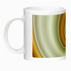 Golden Spiral Gold White Wave Night Luminous Mugs