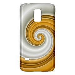 Golden Spiral Gold White Wave Galaxy S5 Mini by Alisyart