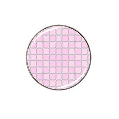 Light Pastel Pink Hat Clip Ball Marker (10 Pack) by Alisyart