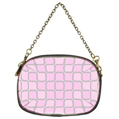 Light Pastel Pink Chain Purses (one Side)