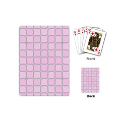 Light Pastel Pink Playing Cards (mini)