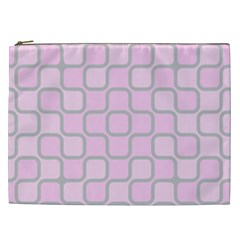 Light Pastel Pink Cosmetic Bag (xxl)  by Alisyart