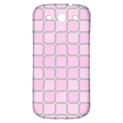 Light Pastel Pink Samsung Galaxy S3 S Iii Classic Hardshell Back Case by Alisyart