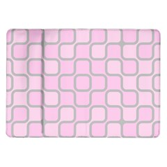 Light Pastel Pink Samsung Galaxy Tab 10 1  P7500 Flip Case