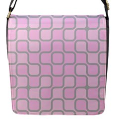 Light Pastel Pink Flap Messenger Bag (s)