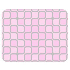 Light Pastel Pink Double Sided Flano Blanket (medium)  by Alisyart
