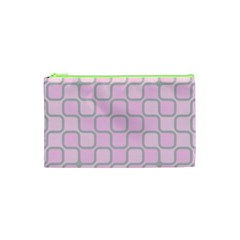 Light Pastel Pink Cosmetic Bag (xs) by Alisyart