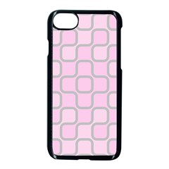 Light Pastel Pink Apple Iphone 7 Seamless Case (black)