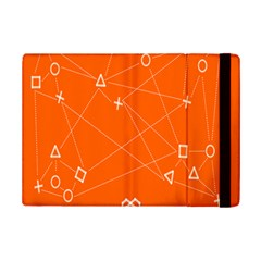 Leadership Deep Dive Orange Line Circle Plaid Triangle Ipad Mini 2 Flip Cases by Alisyart