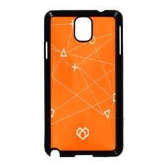 Leadership Deep Dive Orange Line Circle Plaid Triangle Samsung Galaxy Note 3 Neo Hardshell Case (black)