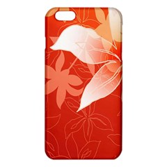 Lily Flowers Graphic White Orange Iphone 6 Plus/6s Plus Tpu Case by Alisyart